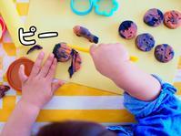 《2歳4ヶ月》粘土でお顔作り - ゆりぽんフォト記