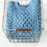Authentic Aran Knit - cocoon hand-knit works