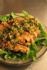 揚げ鶏の香味だれかけ と 卒園 - はぐくむキッチン