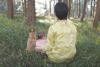 後姿 - 家族の風景