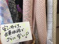 裏布、カーテン、たくさん使いに 丸特コットン - おさや糸店