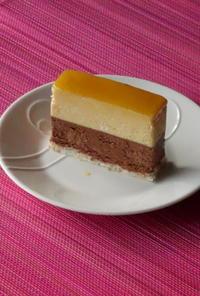 八角香るパッションとチョコレートのケーキ『不倫の味の1つ』 - Baking Daily@TM5