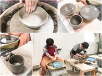 本日の陶芸教室 Vol.610 - 陶工房スタジオ ル・ポット