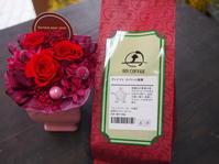 母の日のコラボ商品♪母の日限定☆花とコーヒータイムのひとときを - ルーシュの花仕事