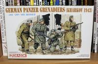 DRAGON 6059 German Panzer Grenadiers (Kharkov 1943) - Post-Retirement Modelling Life