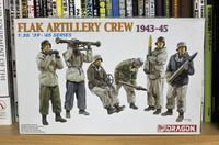 DRAGON 6275 Flak Artillery Crew 1943-45 - Post-Retirement Modelling Life