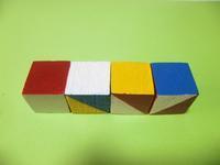ハンドメイドの立方体で花模様 - 活花生活(2)