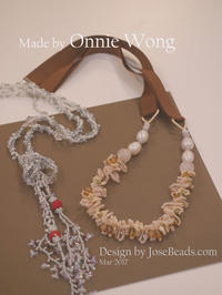 made by Onnie Wong (March 2017) - JOSEBEADS jewelry kits
