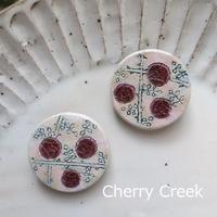喫茶店に春の作品を納品しました。 - Cherry Creek                                                 ~ちくちく手芸部!ときどきファーム~