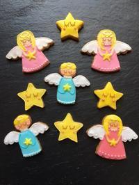 オーダークッキー☆ - 天然酵母パン教室☆ange☆