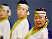 第4回震災復興チャリティよさこい (2) TANASHIソーラン会・ダンスパフォーマンス集団 迫-HAKU- - ぶらぶらデジカメ写真 by はる