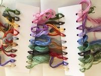 刺しゅう糸の準備 - y-hygge