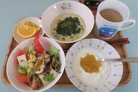 魚肉ソーセージの卵焼き弁当・牡蠣のペペロンチーノ - さとごころ