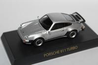 1/64 Kyosho PORSCHE 911 TURBO 1977 - 1/87 SCHUCO & 1/64 KYOSHO ミニカーコレクション byまさーる