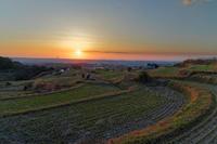 太子、棚田の夕暮れ - katsuのヘタッピ風景