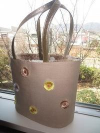 神戸の春とオーダーバッグ - 布遊び