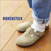 BIRKENSTOCK [ビルケンシュトック正規販売店] BOSTON schmal TAUPE [060463] MEN'S/LADY'S - refalt   ...   kamp temps
