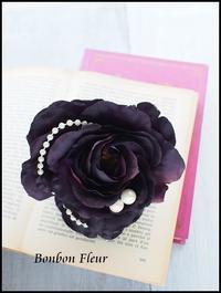 ローズコサージュ パールの追加 - Bonbon Fleur ~ Jours heureux  コサージュ&和装髪飾りボンボン・フルール