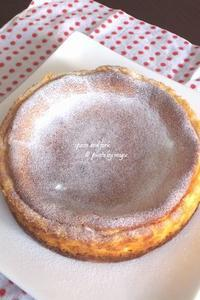 栗原はるみさんのチーズケーキ - spoon and fork