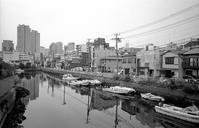 運河沿い(その6) - そぞろ歩きの記憶