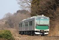 EV-E300【ACCUM】【烏山線】 - EH500_rail-photograph
