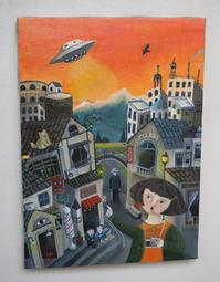 UFO目撃談 - 安曇野の森の中より絵とオリジナル雑貨制作販売しています。