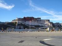 ポタラ宮殿の背面も見てください - 中国探検想い出日記