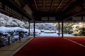 詩仙堂の絶景雪景色 - 花景色-K.W.C. PhotoBlog