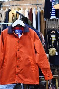 アメリカ流・DAILY Barbour ・・・ Oregonian Outfitters WAX CLOTH COACH JACKET!★! - selectorボスの独り言   もしもし?…0942-41-8617で細かに対応しますョ  (サイズ・在庫)