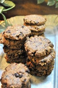 チョコチップとナッツのマクロビクッキー - ミルクムーン
