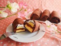 バナナチョコクレープ♪ - This is delicious !!