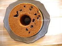 黒豆ほうじ茶シフォン - cuisine18 晴れのち晴れ