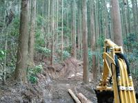 今期間伐最終段階 ある依頼に着手 - 自伐型林業 施業日記