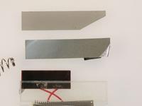 電卓の液晶ディスプレイから偏光板を外してみる(II) - ミクロ・マクロ・時々風景