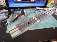 アオシマのDD51 飾り台の塗装 - Sirokamo-Industry