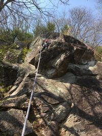 湯河原幕岩講習(3月19日) - ちゃおべん丸の徒然登攀日記