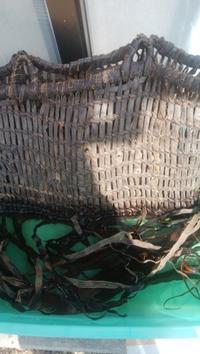 古い籠の修理 - くのいち工房