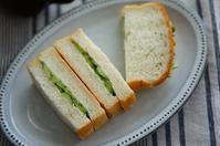 きゅうりサンド - choco cafe* パン教室