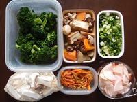 週末の常備菜作り(170320) - ふたりで暮らす