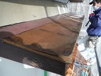 屋根・外壁塗り替え ~ 庇補修 - 市原市リフォーム店の社長日記・・・日日是好日