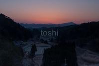 宮奥 夜明け - toshi の ならはまほろば