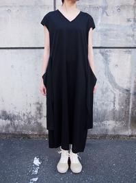 名前のないブランド ロングワンピース ②BLACK - suifu