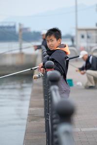 魚釣りに同行。 - various things