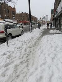 大雪予報の影響色々 - NYの小さな灯り ~ヘアメイク日記~