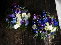 3月の一ヶ月間、毎週一回お届けの、来客される方のために小学校の校長室に飾るアレンジメント。 - 札幌 花屋 meLL flowers