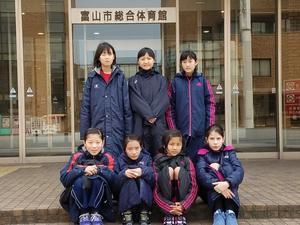 H29.3.18-19 第25回北信越小学生バレーボール富山交流会に参加しました。 - GO!富樫エンジェル