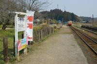 菜の花の小湊鉄道へ~④月崎駅にて - 柳に雪折れなし!Ⅱ