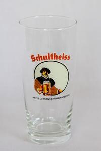 ☆本日のPICK UP☆東ドイツ(DDR) ビールグラス Schultheiss - 東欧雑貨店 Glucklich (グリュックリッヒ)の日記