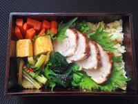 3/21 チャーシュー丼弁当 - ひとりぼっちランチ