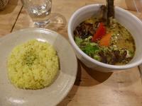 東広島の本格的なスープカレーを食べてきました - 飛行機とパグが好きなお母さんの日記